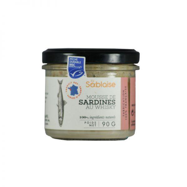 Mousse de Sardines au Whisky