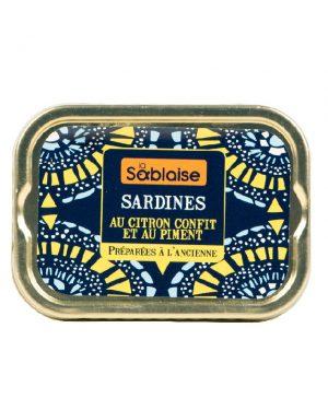 Sardines au Citron Confit et au Piment von LA SABLAISE