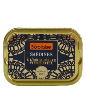 Sardines à l'huile d'olive extra vierge von LA SABLAISE