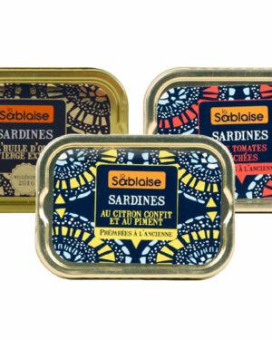 Trilogie von Sardinen