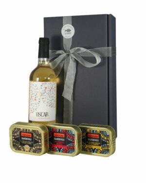 Geschenkpaket Vin et Sardines