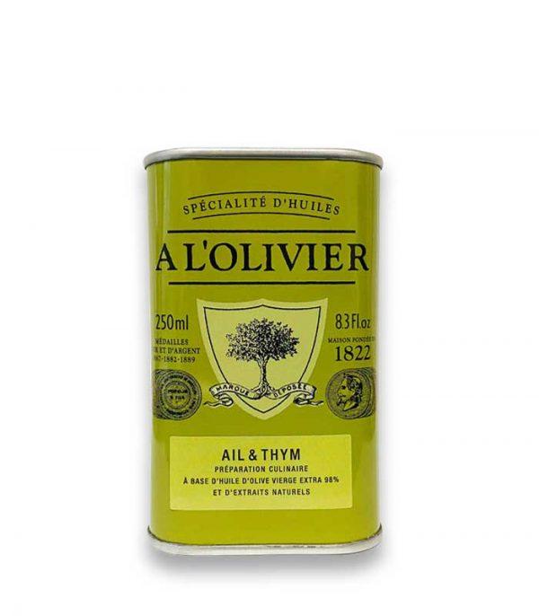 Olivenöl Knoblauch Thymian