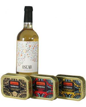 "Probierpaket ""Vin et Sardines"""