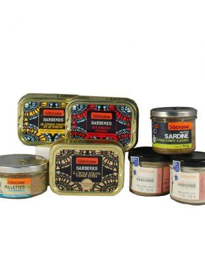 """Probierpaket """"Amoureux de Sardines"""""""